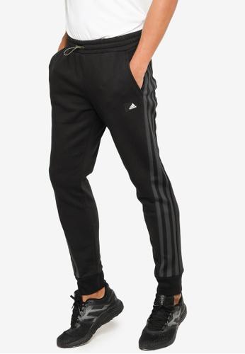 ADIDAS black sportswear future icons winterized pants BD2C8AAB4D9F84GS_1