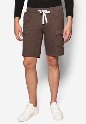 掀蓋口袋底檔短褲, 服飾,esprit outlet台北 短褲