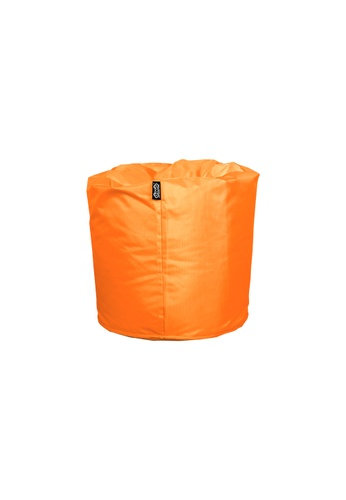 doob orange TOOTSIE - ottoman/footrest doob bean bag (Mandarin Orange) 1CE0EHLEB40B31GS_1