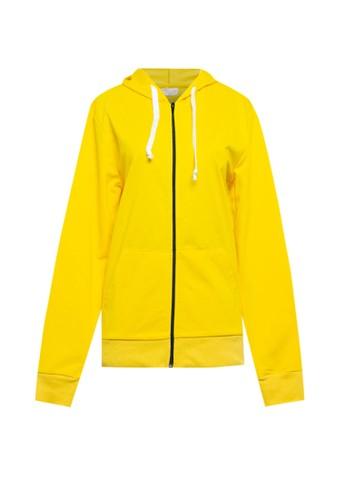 MEIJI-JOY yellow Jacket Hodie Hoodie Long Sleeve 84F4FAAF7C6109GS_1