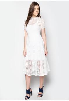 Textured Long Dress