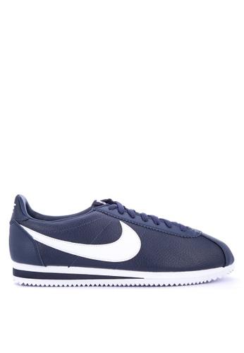 Nike navy Men's Nike Classic Cortez Leather Shoes C06FASHD77B3EBGS_1