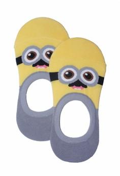 Sunny Character Gray Foot Socks