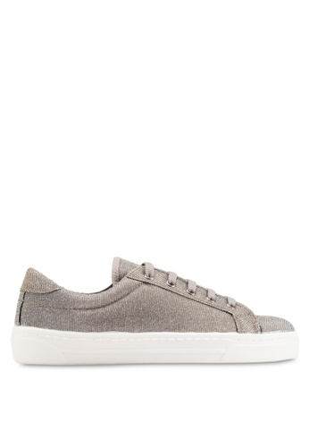 Dorothy Perkins silver Lace Up Sneakers DO816SH76FITMY_1
