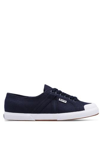 Superga navy Plus Cotu Sneakers 6B711SHAA603F1GS_1