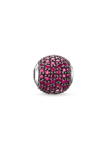 """THOMAS SABO red Bead """"red river"""" B621AAC07BFFFFGS_1"""
