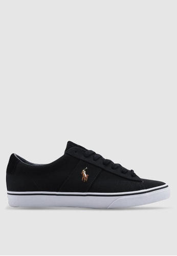 Polo Ralph Lauren black Sayer Sneakers 9D32BSHB73E327GS_1