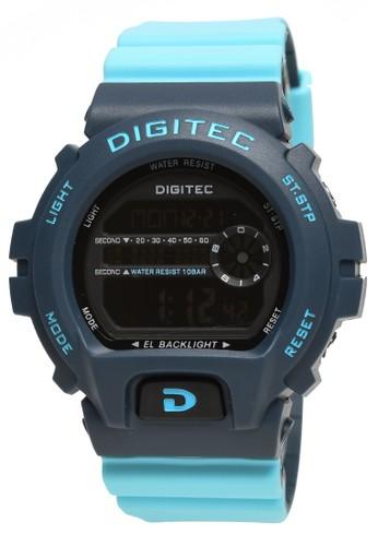 Digitec blue Digitec - Jam Tangan Pria - Blue - Resin Strap - DG5099-E 883D8ACC8B348DGS_1