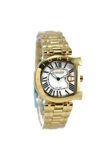 Aigner Jam Tangan Wanita Gold Stainless Steel A34322 Arco AI473AC85KLAID 1 e073faafb1