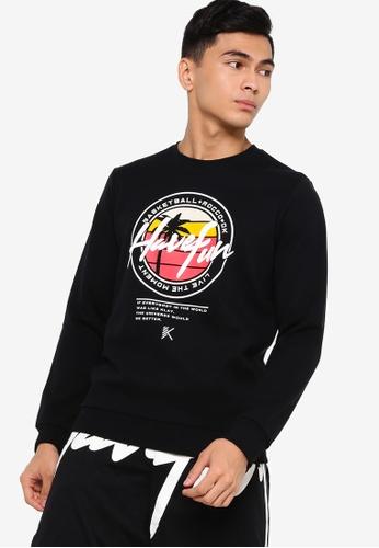 Anta black Kt Sweatshirt B05BCAA0085E42GS_1