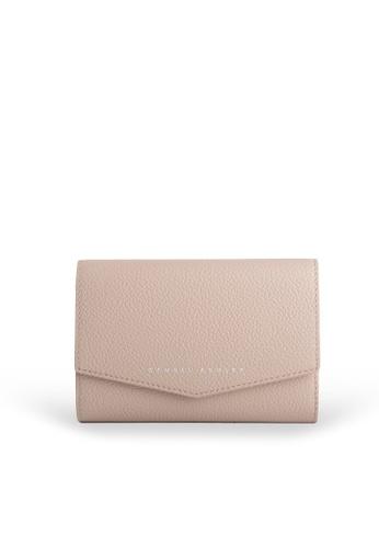 Samuel Ashley beige Reagan Trifold Wallet - Skin 1E23BAC508852CGS_1