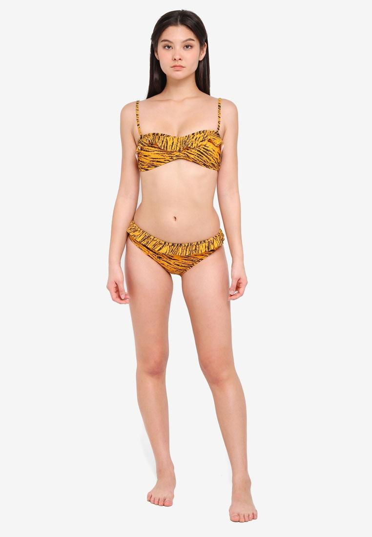 ICHI Wien Bottom Jurassic Bikini Gold A 88HrqxT