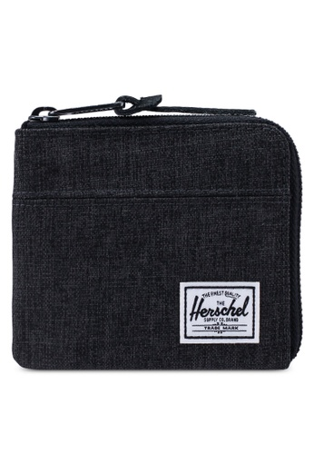 Herschel black Johnny RFID Wallet 57391AC349DADBGS_1