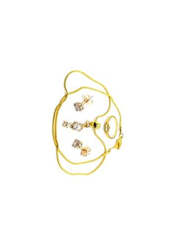 KLF KLF Argos Gold Plated Jewelry Set Bundle 7 KL134AC63FZKMY_1
