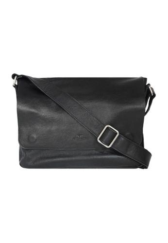 EXTREME black Extreme Classic Leather Messenger Bag (13inch Laptop) B9604ACE69E3CCGS_1