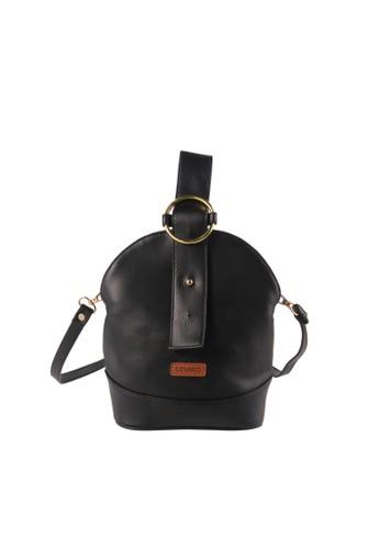 Ceviro black Ceviro Ringoa Sling Bag Tas Selempang Wanita Trendy Black F8078ACAC6EA9EGS_1