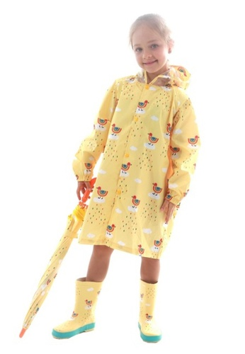 Twenty Eight Shoes yellow VANSA Fashion Cartoon Raincoat VCK-R002 38BF2KA53DCBE5GS_1