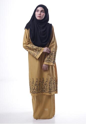 Denai Boutique yellow Baju Kurung Toyyib 1FCECAA681B706GS_1