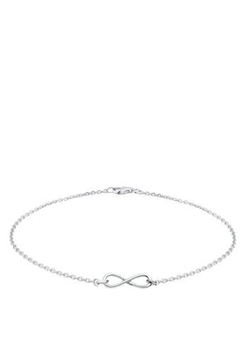 Elli Germany silver 925 Sterling Silver Infinity Bracelet EL474AC01GNMMY_1