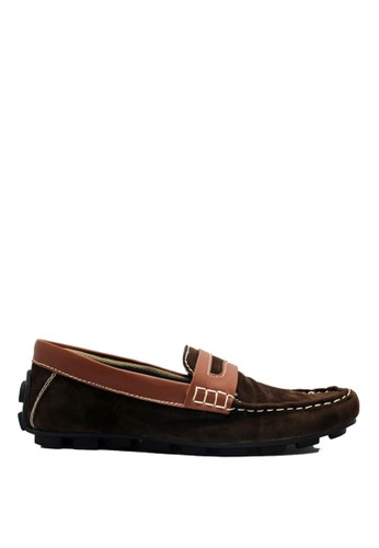 D-Island brown D-Island Shoes Slip On Mocasine Casual Brown DI594SH77LWSID_1