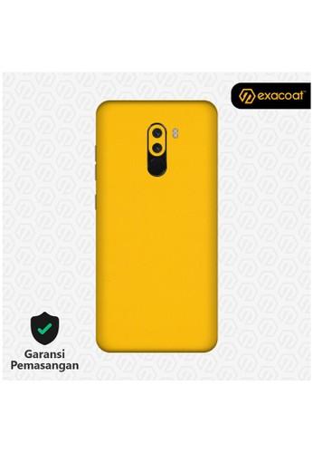Exacoat Pocophone F1 3M Skins True Colors - Lemon Yellow 30568ESE8E873EGS_1