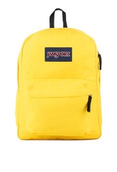 Jansport yellow Superbreak Backpack 4F723AC8D0595FGS 1 342a7b13a0816