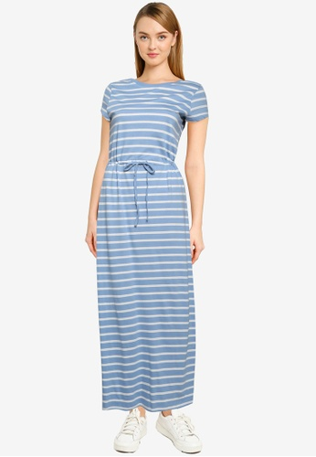 ONLY blue May Life String Maxi Dress 03F27AAC3D94B0GS_1