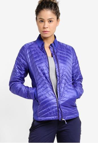 Odlo blue Midlayer Full Zip Helium Cocoon Jacket OD608AA49JZUMY_1