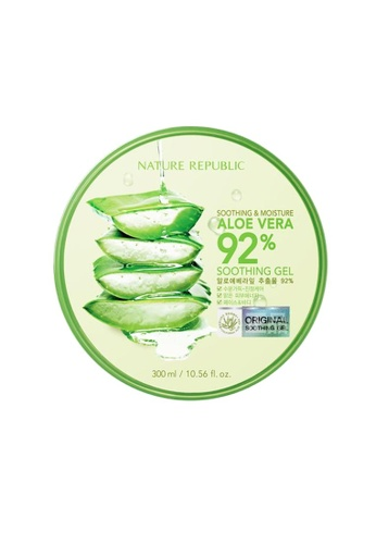 NATURE REPUBLIC Soothing & Moisture Aloe Vera 92% Soothing Gel 8E857BEA4802C0GS_1