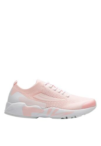 FILA pink RJ-Retro Jogger Shoes 051E7SHCEE7564GS_1