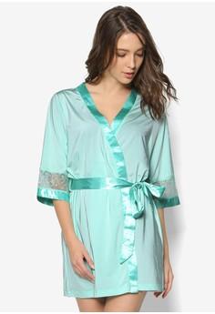 Sharon's Temptation Turquoise Robe