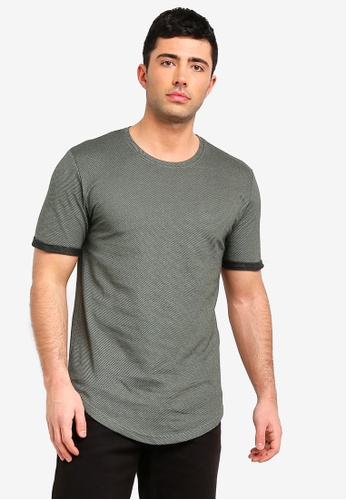 Only & Sons 藍色 Gino 短袖T恤 27BB2AA434DB66GS_1