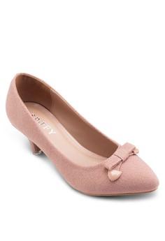 【ZALORA】 蝴蝶結低跟淑女鞋