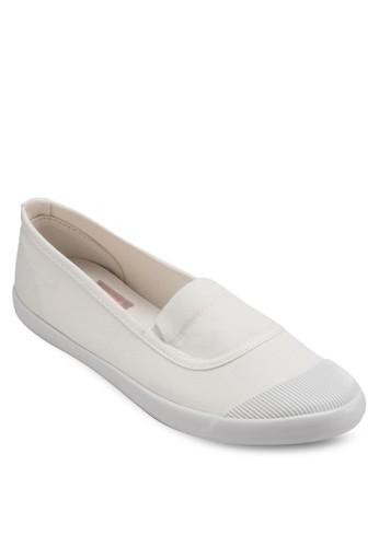 撞色鞋頭懶人鞋esprit台灣, 女鞋, 鞋