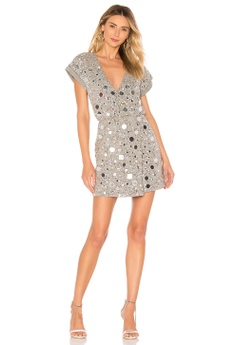 498e02c9cf0 House of Harlow 1960 grey x REVOLVE Lora Dress(Revolve) 6BBA8AA7D9AA9CGS 1  40% OFF ...