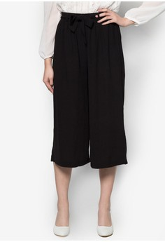Flow Trousers with Belt