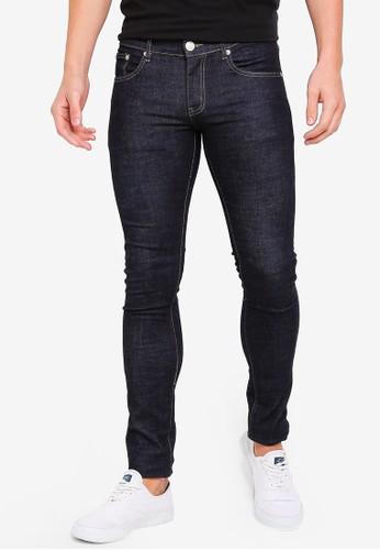 Electro Denim Lab blue Dub-Tight Fit Jeans 76870AA312CBD7GS_1