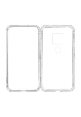 MobileHub silver Huawei Mate 20 360 Degree Magnetic Metal Bumper Case EF40CAC342AC39GS_1