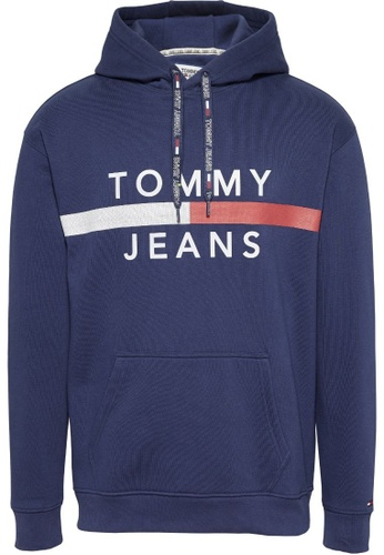 Tommy Hilfiger TOMMY JEANS REFLECTIVE FLAG HOODY 63D73AA2553654GS_1