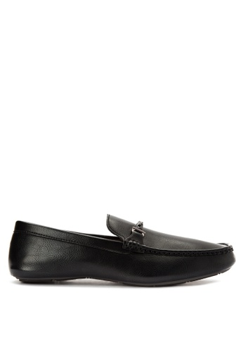 Mendrez black Evans Loafers ME992SH0KG1SPH_1