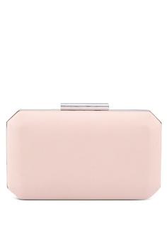 dfe05f271f20 Forever New pink Tara Geo Box Clutch 17981AC17D308CGS 1