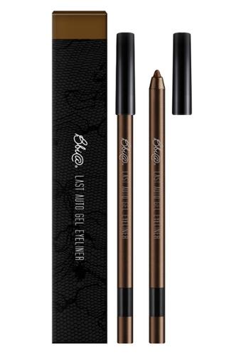 BBIA brown BBIA - Last Auto Gel Eyeliner Basic 02 Mellow Brown BB525BE0RA4VMY_1