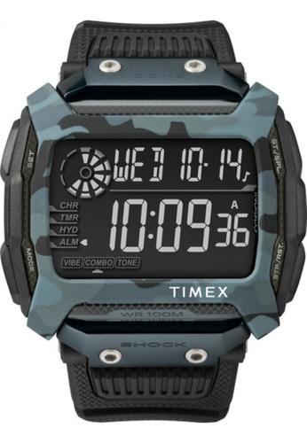 Timex black Timex - Command™ Shock 54mm - Black Resin Strap - (TW5M18200) B43AEAC127E8E8GS_1
