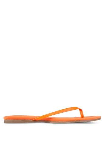 Christy Ng orange Violet Orange Flip-Flops CH330SH0RXOPMY_1
