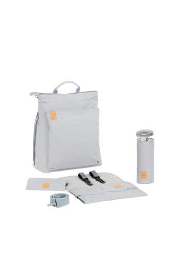 LASSIG grey Lassig Tyve Backpack Diaper Bag (Grey) 1FDA0KC1C3E657GS_1