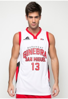 ACCEL PBA Ginebra Jersey Helterbrand 13 - Home