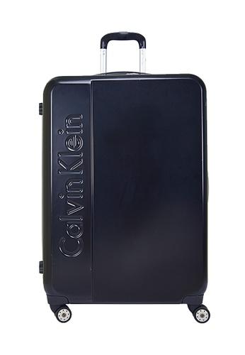 Calvin Klein black Calvin Klein Manhattan 2.0 20Inch Spinner Hard Case Luggage 9CC11ACB1A544AGS_1
