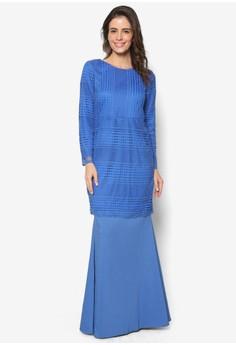 Baju Kurung Crochet Lace - Vercato Atita