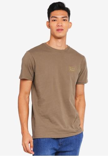 Billabong 綠色 休閒印花T恤 2D91AAA0D2A70FGS_1