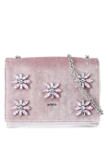 Furla pink Furla Viva Mini Pochette Bag DE76BACD09D4E0GS_1